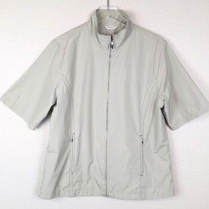 Ping Collection Golf Short Sleeve Rain Jacket